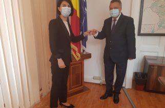 Ministrul Muncii, la Prefectura Hunedoara