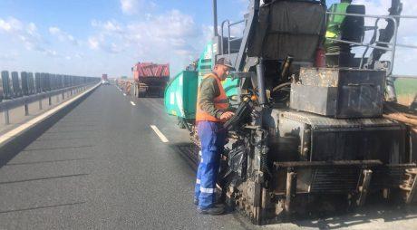 Lucrări astăzi pe autostrada A1