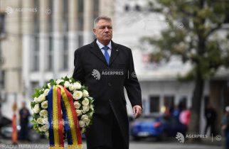Colectiv – 5 ani / Preşedintele Iohannis depune o coroană de flori în memoria victimelor incendiului