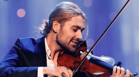 Concertele violonistului David Garrett de la Bucureşti şi Cluj-Napoca, reprogramate pentru anul 2021