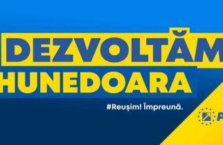 PNL: DEZVOLTĂM ROMÂNIA, DEZVOLTĂM HUNEDOARA – Creștem nivelul de trai!