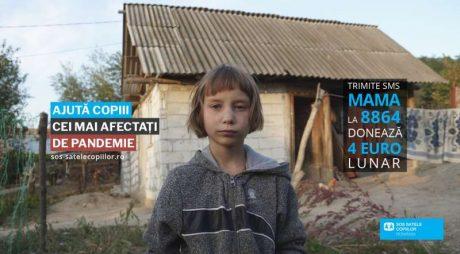 """Asociaţia SOS Satele Copiilor România lansează campania """"Ajută copiii cei mai afectaţi de pandemie"""""""