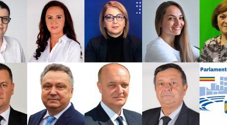 Cei 9 parlamentari ai județului depun astăzi jurământul