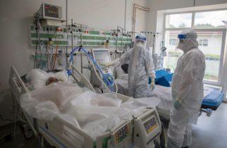 Coronavirus/ GCS: 989 de pacienţi la terapie intensivă; persoane internate – 7.687