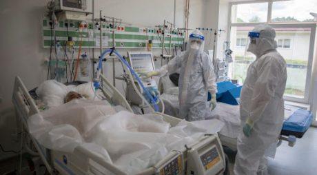 GCS: 1.005 pacienţi la terapie intensivă; persoane internate – 8.068