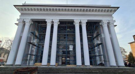 Hunedoara – Lucrările continuă la Casa de Cultură