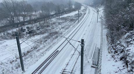 Stadiul lucrărilor la linia de cale ferată de mare viteză, LOT 3, Simeria – Gurasada