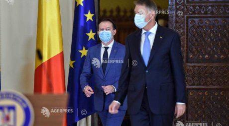 Preşedintele Iohannis – şedinţă de lucru cu premierul Cîţu, vicepremierul Barna şi miniştrii Finanţelor şi Investiţiilor
