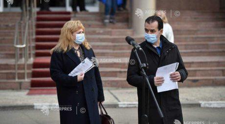 Anca Dragu şi Ludovic Orban s-au vaccinat anti-COVID-19