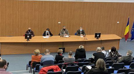 Comisia de Dialog Social – întâlnire prefect cu reprezentanții Sindicatului  Învățământului Preuniversitar