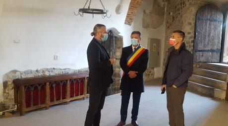 Ambasadorul Israelului, vizită la Caastelul Corvinilor