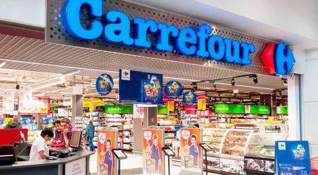 Carrefour a avut anul trecut vânzări de 2,327 miliarde euro în România