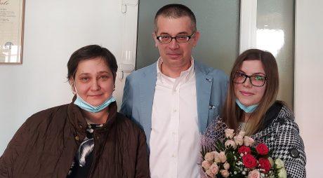 Iulia Maria Gherghel, primul copil născut prin procedeul in vivo în județ, la 18 ani