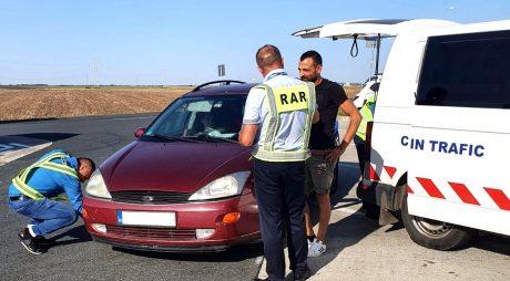 Peste 1.400 de vehicule, verificate anul trecut de RAR în județ