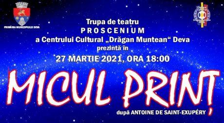 """ZIUA MONDIALĂ A TEATRULUI sărbătorită printr-un spectacol la Centrul Cultural """"Drăgan Muntean"""" din Deva!"""