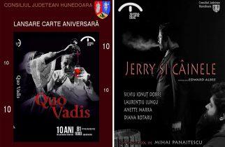 Lansare de carte și o nouă premieră la Teatrul de Artă Deva