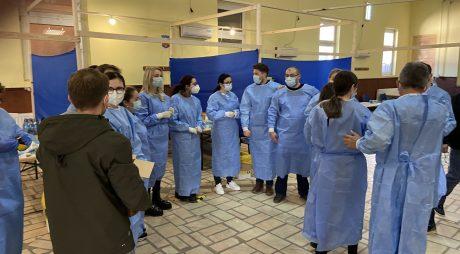 #Coronavirus: Aproape 200 de persoane din Certeju de Sus, vaccinate de voluntari de la Timișoara