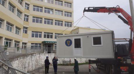 3 construcții modulare ușoare pentru spitalele din Hațeg și Brad și un sanatoriu