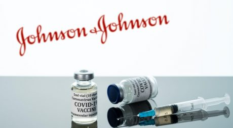 Morgantown, WV - 16 December 2020: Small bottle of coronavirus vaccine with syringe with background of Johnson and Johnson logo,Image: 576865954, License: Royalty-free, Restrictions: Contributor country restriction: Worldwide, Worldwide. Contributor usage restriction: Advertising and promotion, Consumer goods. Contributor media restriction: {A2B27F90-7C68-4BED-AEA8-DB2B79E3372D}, {A2B27F90-7C68-4BED-AEA8-DB2B79E3372D}., Model Release: no