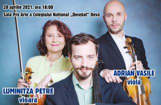 ",,Trio Petre"" în concert online"