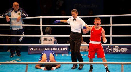 Hunedoreanul Cosmin Gîrleanu, calificat în sferturi la Europenele Under-22 la box