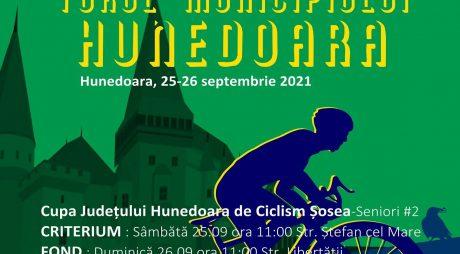 Prima ediție a TURULUI MUNICIPIULUI HUNEDOARA are loc în zilele de 25-26 septembrie 2021