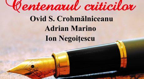 """""""Centenarul criticilor"""" la Biblioteca Județeană """"Ovid Densusianu"""" Hunedoara-Deva"""