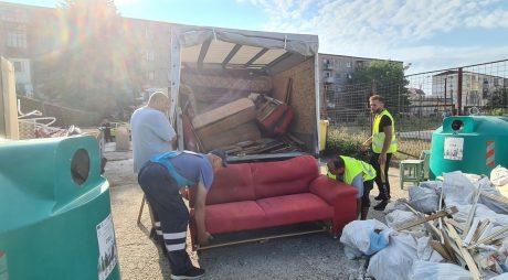 Hunedoara: Când se va organiza o nouă campanie de ridicare a deșeurilor voluminoase