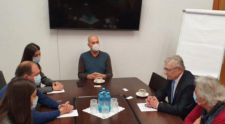 Întâlnire cu primarul general al Municipiului Chișinău și participare la Festivalul Internațional de Teatru FESTIS 2021