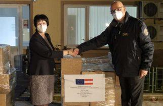 GCS: 1.075 de cutii cu medicamente pentru tratarea pacienţilor COVID în stare gravă, donate de Austria
