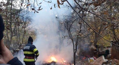 Hunedoara: Amendă de 10.000 de lei pentru incendiere de deşeuri