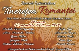 """Concert extraordinar """"Tinerețea Romanței"""" la Deva"""