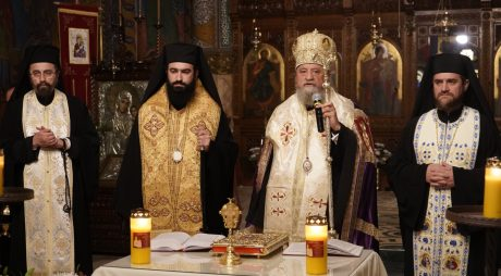 Episcopia Devei și Hunedoarei: Sicriul cu trupul Preasfințitului Părinte Gurie a fost depus în Catedrala Episcopală